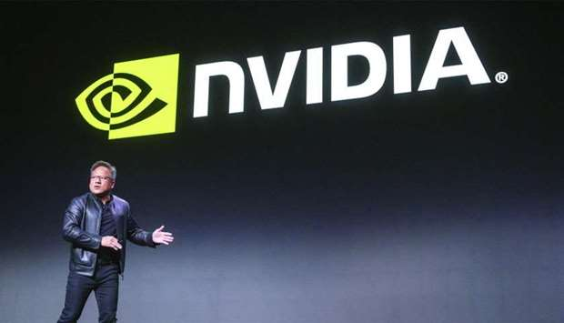 Jen-Hsun Huang, president and CEO of Nvidia Corp