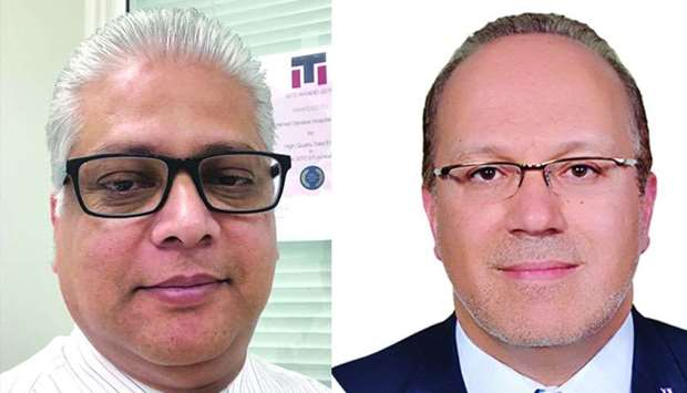 Dr Naveed Akhtar and Dr Maher Saqqur