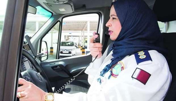 Fathia Zaalani says one of the best aspects of her job is being part of a team.