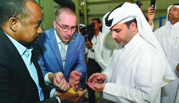 HE the Minister of Municipality and Environment Abdullah bin Abdulaziz bin Turki al-Subaie with othe