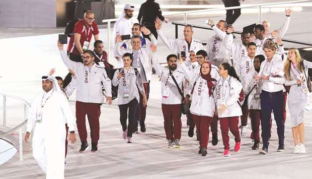 Qatar Olympic team