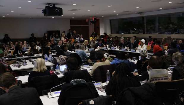 The 63rd session of the United Nations Commission on the Status of Women