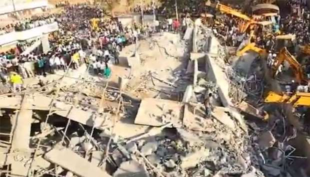 Karnataka building collapse