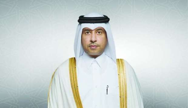 HE the Minister of Justice and Acting Minister of State for Cabinet Affairs Dr Issa bin Saad al-Jafa