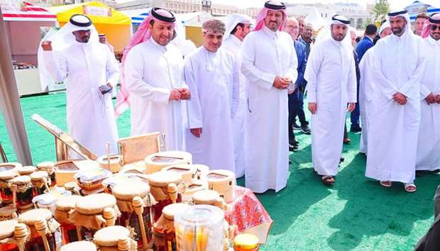 The second Souq Waqif Honey Exhibition 2019