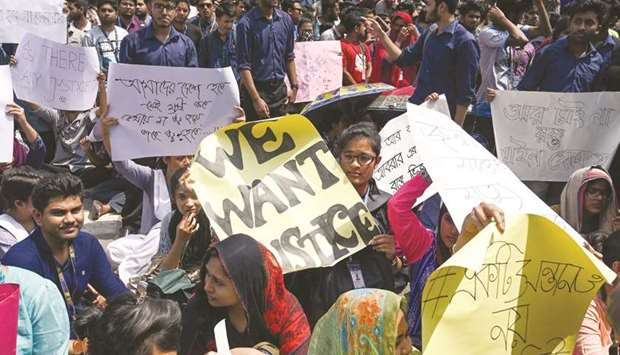 Student's death sparks fresh protest in Dhaka