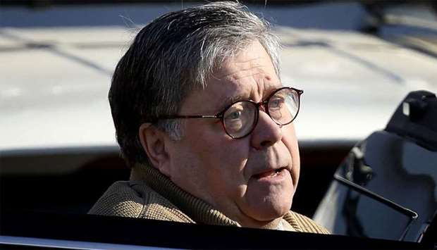US Attorney General William Barr