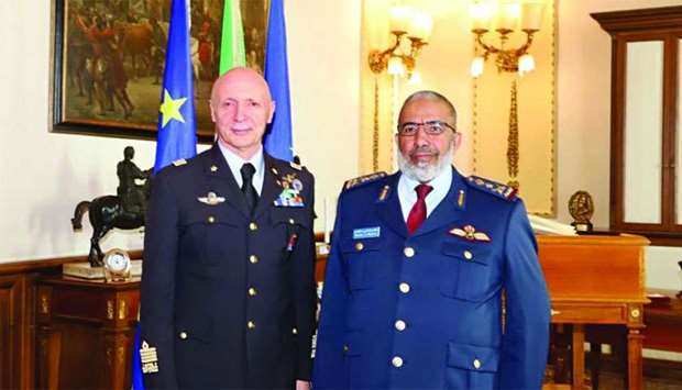 Chief of Staff meets Italian Counterpart