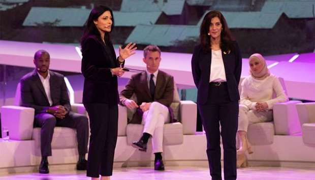 A still from the first episode of Doha Debates held in February.