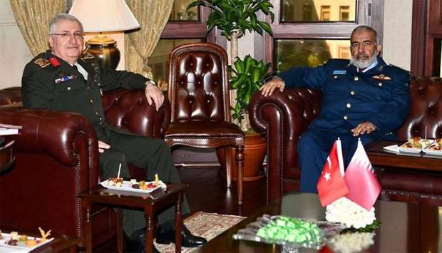 Chief of Staff meets Turkish counterpart