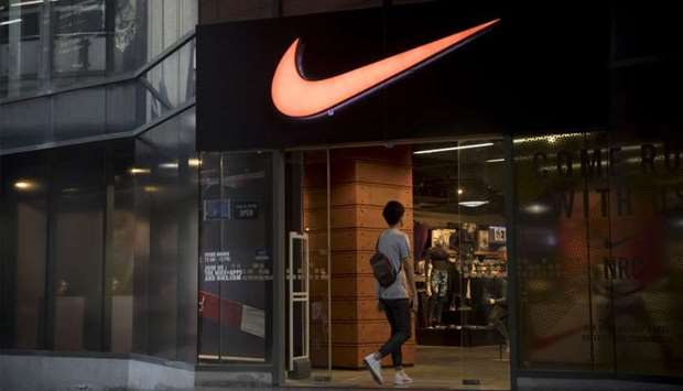 The European Commission said Nike's illegal practices occurred between 2004 to 2017 and related to l