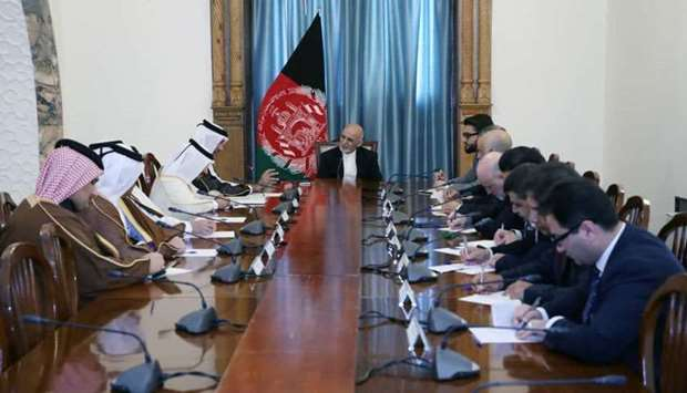 Afghan president meets FM's special envoy