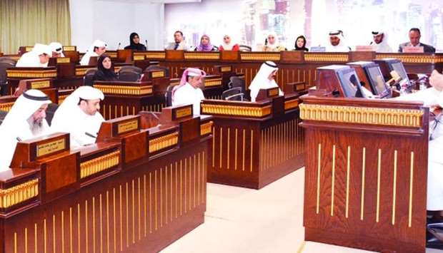 The CMC in session on Tuesday