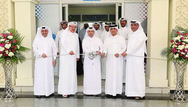 HE the Minister of Education and Higher Education Dr Mohamed Abdul Wahed Ali al-Hammadi, opening the