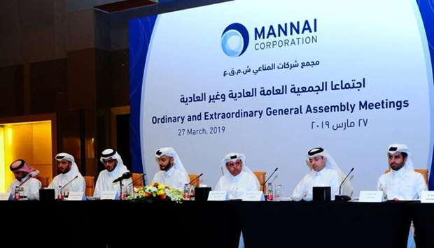 Mannai Corporation board outlining its strategies for 2019 and beyond before the shareholders. PICTU