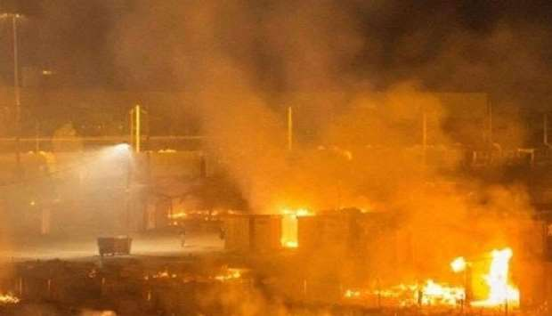 factory explosion in eastern China