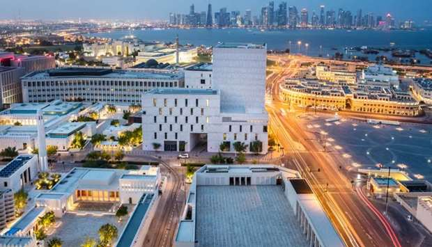 """The QR20bn 'Smartest"""" and 'Most sustainable fully-built City District in the world' is now open for"""