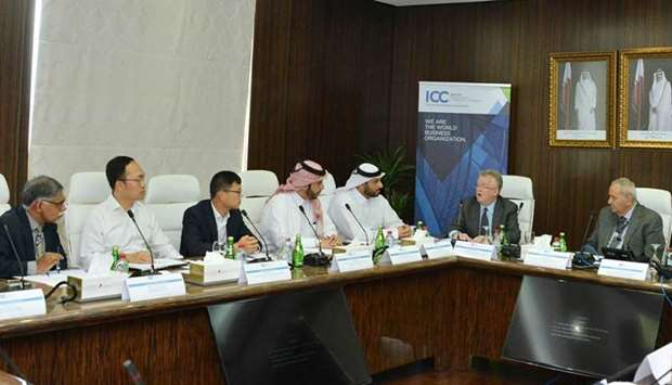 International Chamber of Commerce Qatar (ICC Qatar)  'Banking Commission' meeting