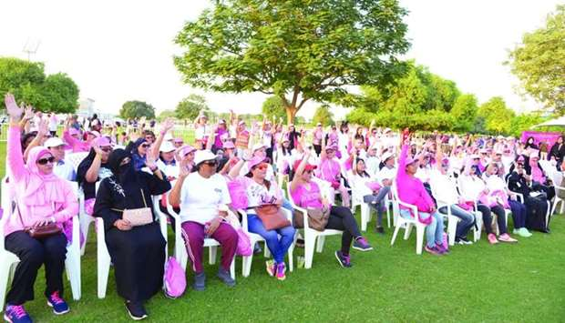 A breast cancer awareness programme by QCS