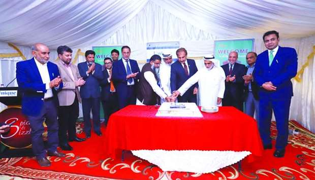Unique Trading Company recently inaugural ceremony with Pakistan ambassador Syed Ahsan Raza Shah asc