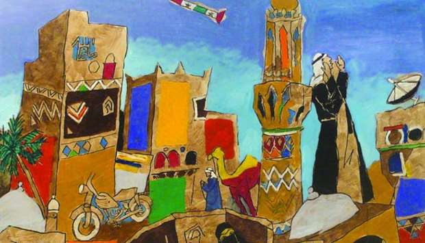 Works by M F Husain will be featured in QM exhibition