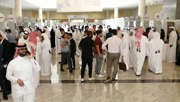 The 14th Career Fair of Qatar University