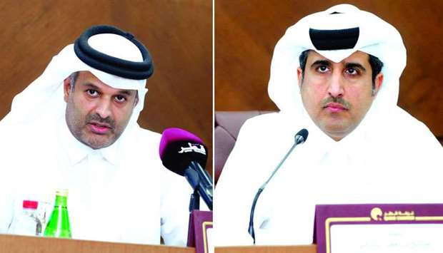 Sheikh Dr Thani bin Ali al-Thani, the chair of the conference's organising committee and Qatar Chamb