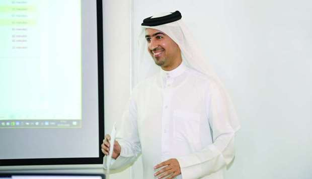 HBKU's Dr Saif al-Kuwari, assistant professor of Information and Computing Technology at the College