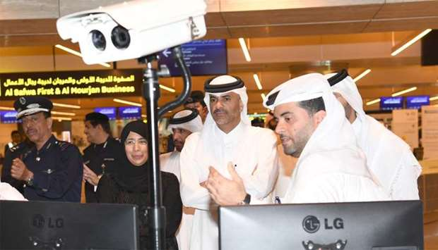 PM inspects HIA procedures to combat Covid-19