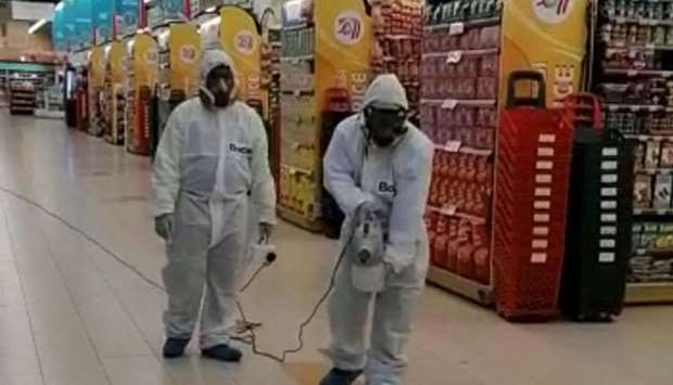 LuLu conducts regular cleaning and sanitation at every store.