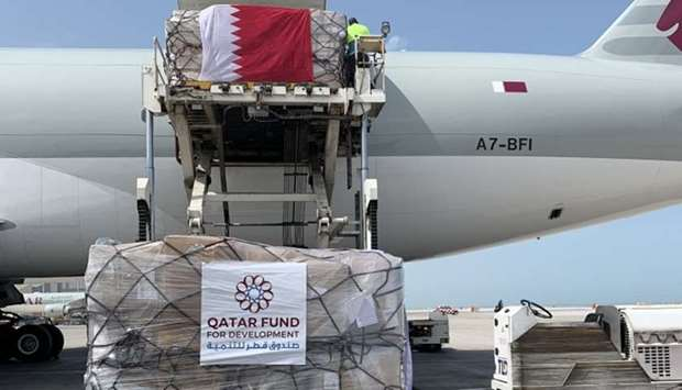 Qatar sends second shipment of medical assistance to Iran