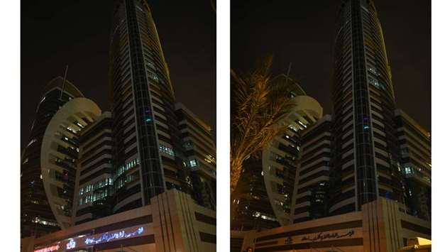 Kahramaa marks Earth Hour by switching off
