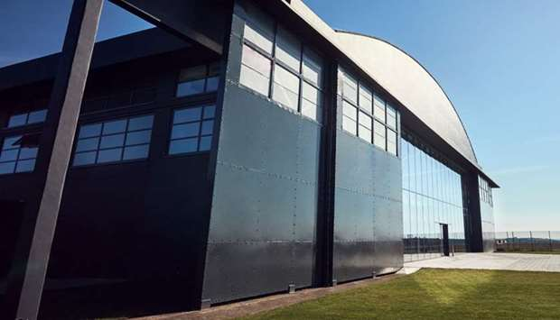 Hullavington Airfield campus where CoVent ventilators are to be manufactured by British technology c
