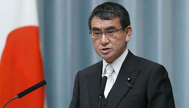 The collision occurred about 650 km west of the Japanese island of Yakushima, Defence Minister Taro
