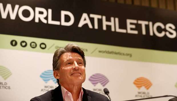 World Athletics President Sebastian Coe. (Reuters)