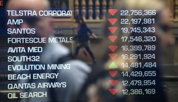 Equity markets collapsed as the rapidly spreading coronavirus fans fears over the global economy