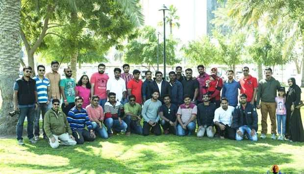 During a trip organised by Sanchari Qatar prior to the Covid-19 pandemic