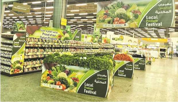 The festival will run for 7 days featuring a variety of vegetables and promotions at Al Meera's bran