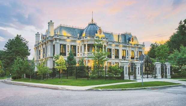 Van Lapoyan has put his mansion up for sale with an asking price of C$19.9mn ($15.7mn). The 24,000-s