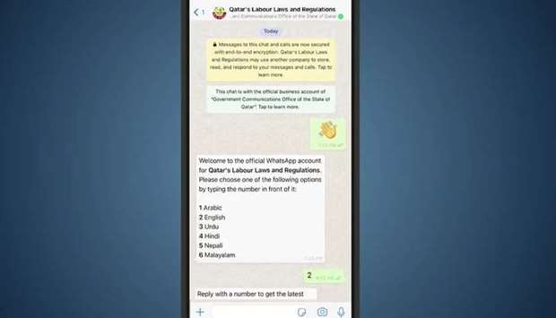GCO introduces labour laws info service on WhatsApp