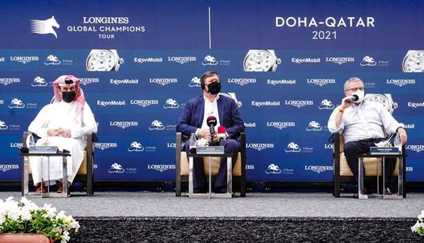 Al Shaqab to host opening leg of Longines Global Champions Tour from Thursday