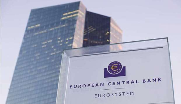 The European Central Bank headquarters in Frankfurt. ECB policymakers are downplaying concerns over