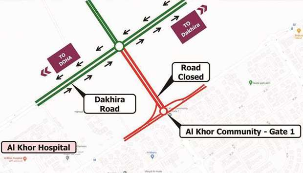 The closure in co-ordination with the General Directorate of Traffic, is to to allow road works.