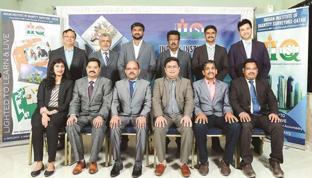 Indian Institute of Quantity Surveyors - Qatar Chapter (IIQS-Qatar), associated to the Indian Busine