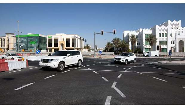 The Public Works Authority (Ashghal) on Sunday said they have partially opened the traffic junction