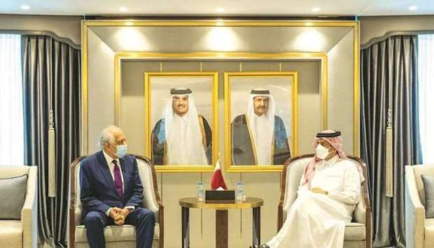 During the meeting, they reviewed the bilateral relations, and the latest developments in the region