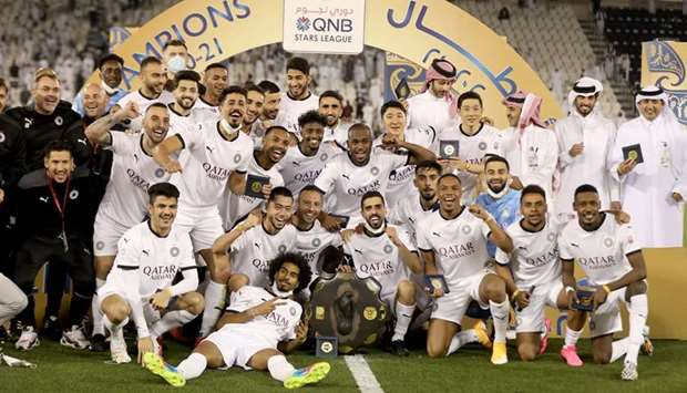 Al Sadd deservedly emerged as the 2020-21 QNB Stars League champions after they beat Umm Salal 3-0 S
