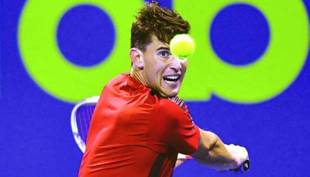 Dominic Thiem's best finish at Qatar ExxonMobil Open was when he had reached the semi-finals in the