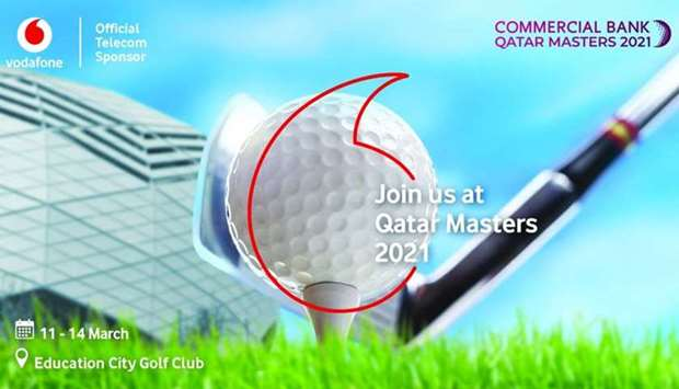 Vodafone's GigaNet Network to power Qatar Masters 2021 venue