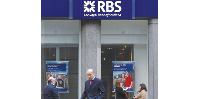 Analysts say breaking up RBS would be a big distraction.